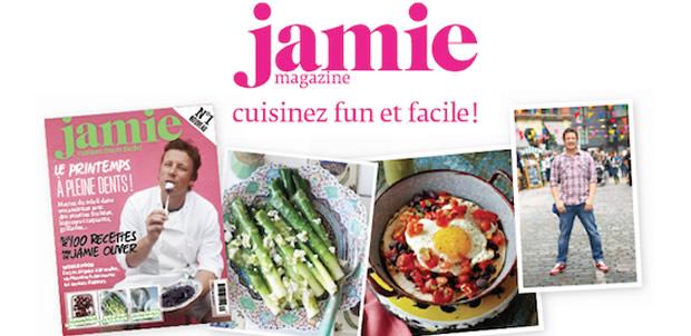 jamiemag Jamie Oliver lance son magazine en français