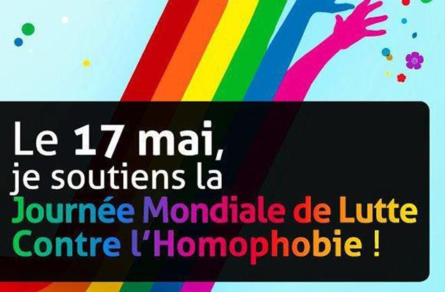 La journée mondiale de lutte contre l'homophobie, la biphobie et la transphobie