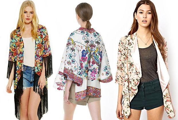 kimono Les incontournables de la tendance asiatique en 2013