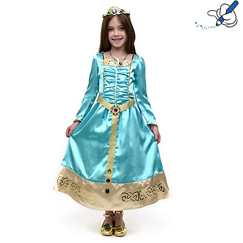 Mérida (Rebelle) relookée en «vraie » Princesse Disney