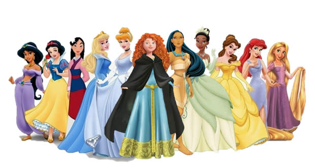 Mérida (Rebelle) relookée en « vraie » Princesse Disney merida fan