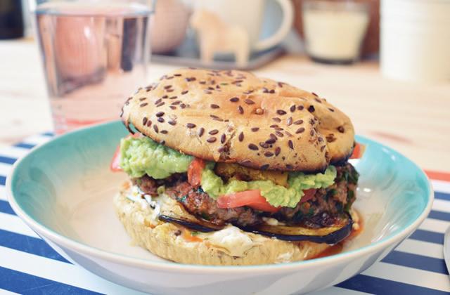 Le burger trotter – la recette de Student Food