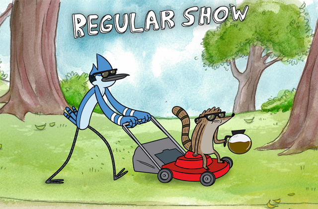 «Regular Show », une série animée complètement barrée et hilarante