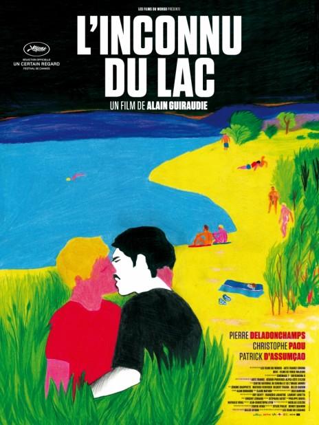 affiche inconnu du lac  Une affiche de film «gay » retirée de certaines rues