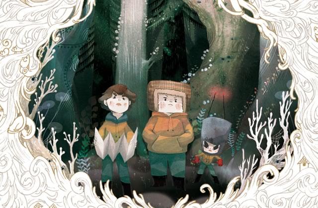 «Chemin Perdu » : plongée en BD dans une étrange forêt — Interview