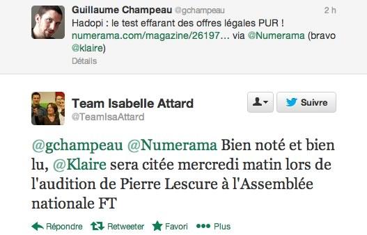 isabelleattard Klaire a testé... le téléchargement légal en France