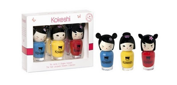 Les vernis les plus mignons du monde, par Kokeshi kokeshi