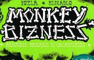 Lien permanent vers Monkey Bizness (tome 2), une géniale BD totalement tarée