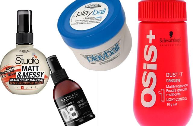 Quatre produits pour avoir des cheveux wild