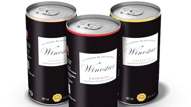 winestar Du vin en canettes arrive dans les rayons