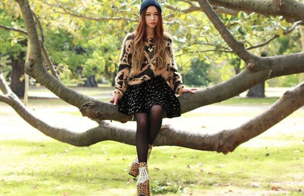 Arbre Chloe Ting   Portrait de blogueuse
