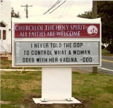 Aux États Unis, le droit à lavortement recule God words