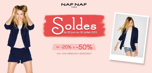 Soldes Naf Naf Soldes dété 2013 — Tous nos bons plans !