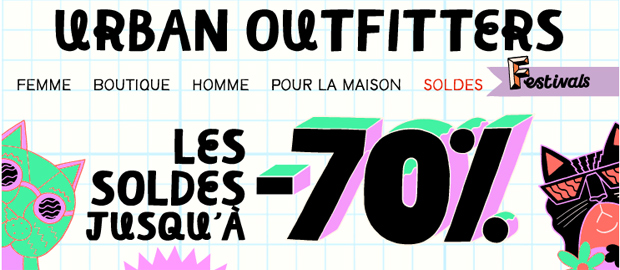 Soldes dété 2013 — Tous nos bons plans ! Soldes Urban Outfitters1