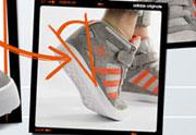 Adidas lance ses premières baskets compensées à talons amovibles