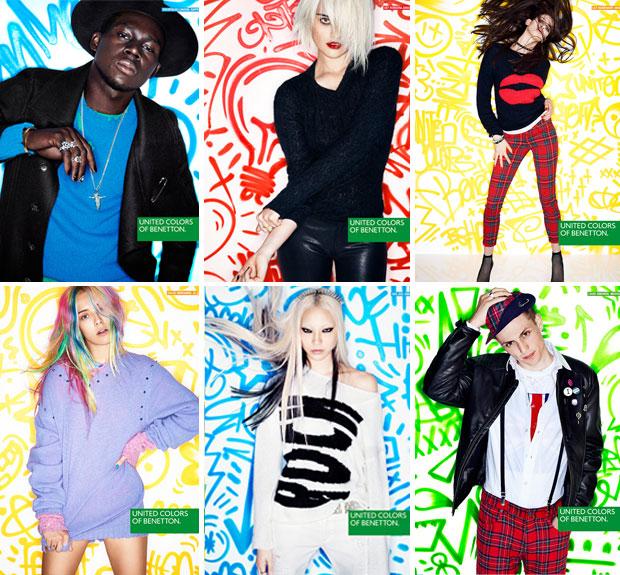 benetton La nouvelle campagne rock punk de Benetton
