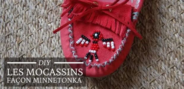 DIY : les mocassins façon Minnetonka