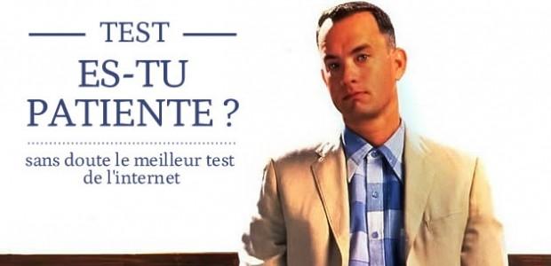 Test – Es-tu patiente ?