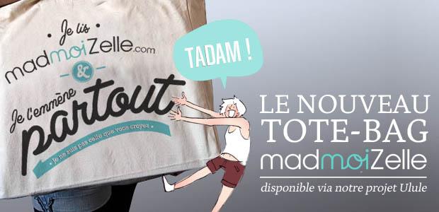 big tote bag madmoizelle 620x300 Crowdfunding Ulule : les goodies vont partir !