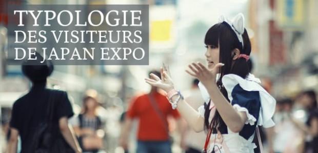 Typologie des visiteurs de Japan Expo