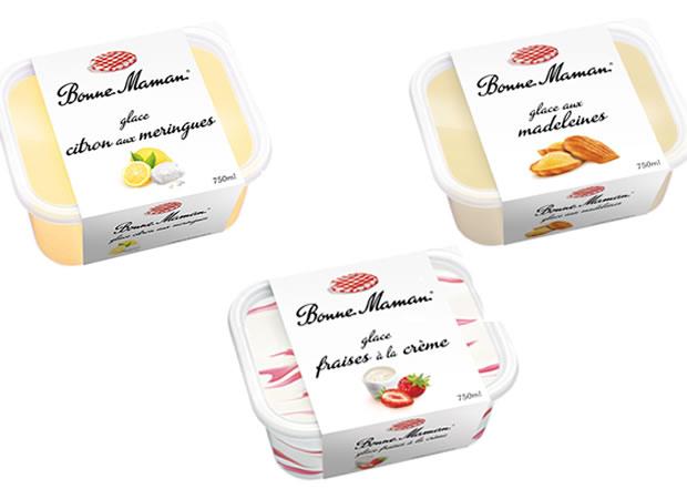 bonnemaman 3 nouvelles glaces chez Bonne Maman