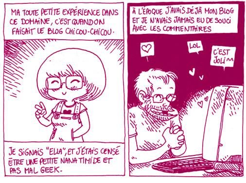 boulet ella Boulet parle des commentaires sur les blogs BD de femmes