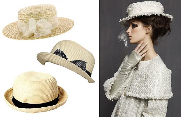 Quel chapeau choisir pour cet été ? canotiers