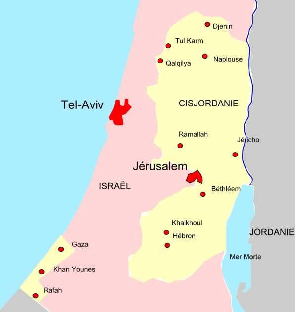Le conflit au quotidien (2/2) : la Cisjordanie — Carte postale d