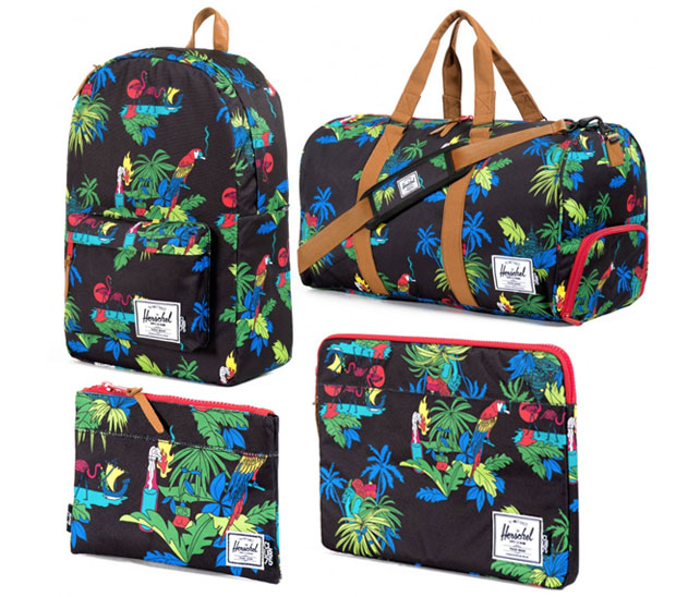 Club 75 et Herschel : la collection capsule tropicale club 75