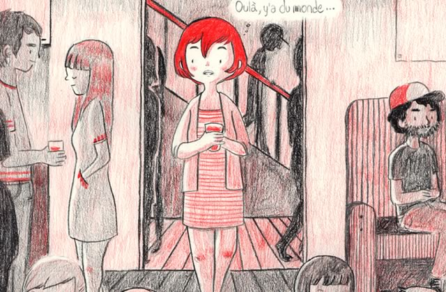 « Introversion », la très jolie BD de Luchie