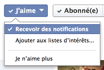 Comment recevoir 100% de nos posts sur Facebook ? jaime recevoir notifications facebook