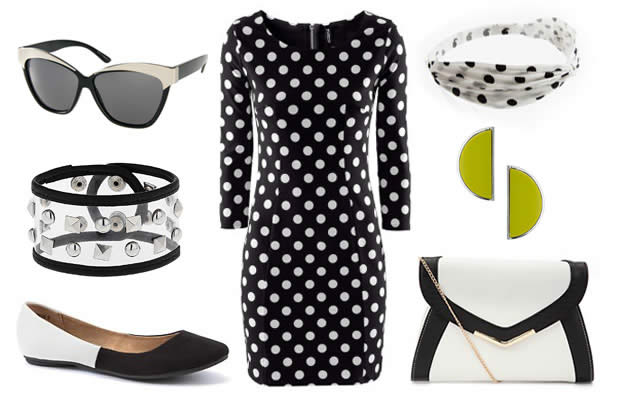 look 2 Sélection shopping spéciale Mad Men