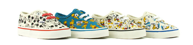 minivans Les sneakers Vans x Disney