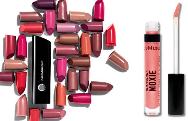 Moxie, la nouvelle gamme lèvres Bare Minerals moxie
