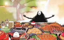 La nourriture qui fait rêver dans les dessins animés