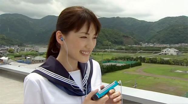 drama japonais fille écouteurs