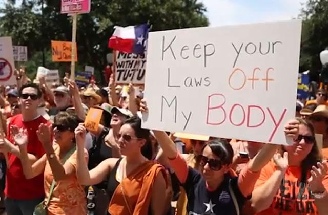 La manif Stand With Texas Women à Austin : j'y étais !