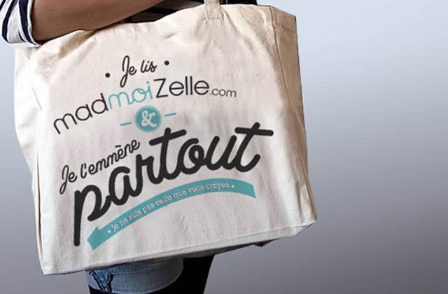 Découvrez le tote-bag madmoiZelle.com !