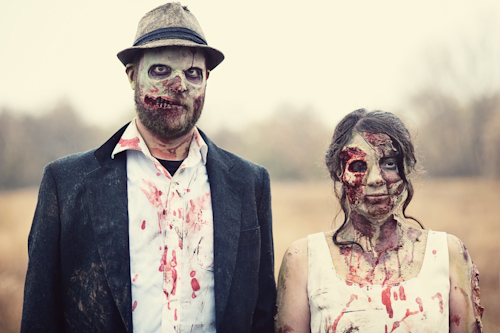 When Geeks Wed : des mariages (ou des fêtes) geek wed zombie