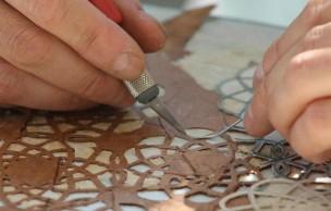 Lien permanent vers Des oeuvres d'art en feuilles d'arbre