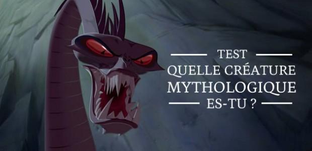 Test — Quelle créature mythologique es-tu ?