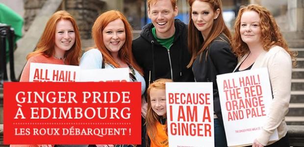 Ginger Pride à Edimbourg — Les roux débarquent!