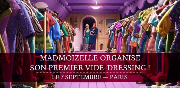 madmoiZelle organise son premier vide-dressing le 7 septembre !