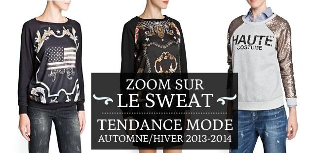 Le sweat-shirt version automne/hiver 2013-2014 : comment le porter ?