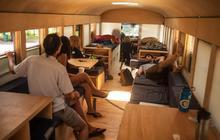 Transformer un bus en logement nomade