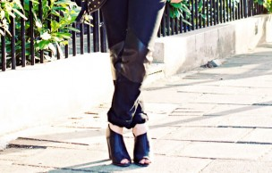 Lien permanent vers DIY : Un jean avec empiècements en cuir (sans couture)