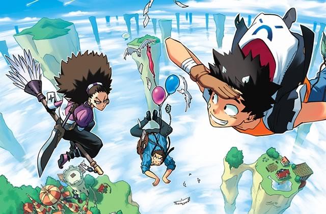 Tony Valente se lance dans le manga avec «Radiant » — Interview
