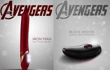 Les sextoys Avengers, pour de super-orgasmes