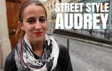 Street Style vidéo avec Gabrielle