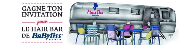 Hair Bar BaByliss Paris : venez gagner vos places ! banner 620x1501